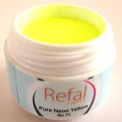 Acrylic Powder Pure Neon Yellow