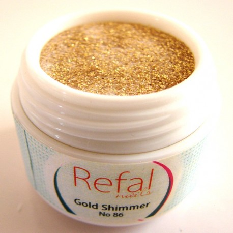 Acrylic Powder Gold Shimmer