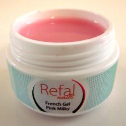 Gel Γαλλικό Pink Milky 15ml