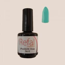 Poolside blue